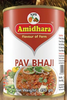 Amidhara Pav Bhaji READY TO EAT 450g