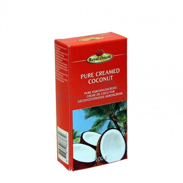 Royal Orient Pure Creamed Coconut - pure Kokosnusscreme, 200g