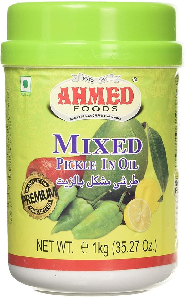 Ahmed Foods Mixed Pickle in oil, 1 kg