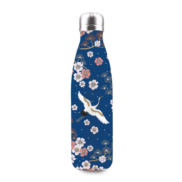 JAPAN ORIENTAL vakuum-isolierte Flasche 500 ml (BPA-frei, 12h warm/24h kalt) in Giftbox