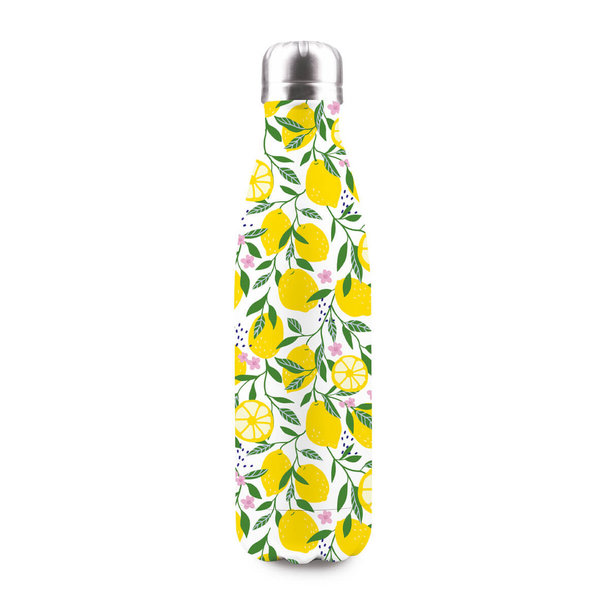 LEMON vakuum-isolierte Flasche 500 ml (BPA-frei, 12h warm/24h kalt) in Giftbox