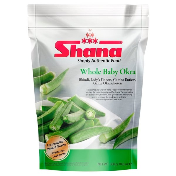 Shana Whole Baby Okra, 300g (TK)