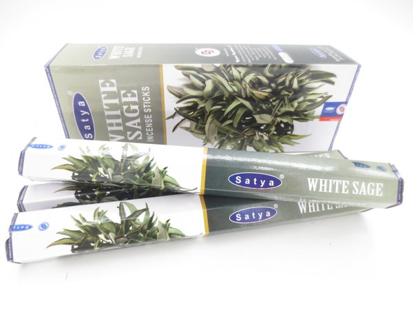 Satya White Sage / weißer Salbei Incense Sticks, 20 Stk.
